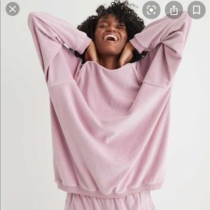 Aerie REAL Obsessed Velour Sweatshirt